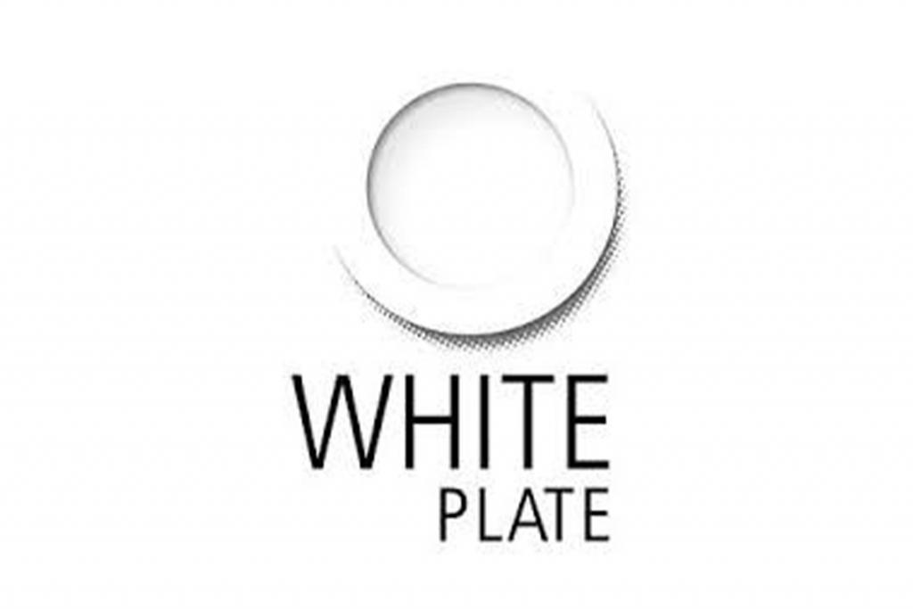 White Plate Logo