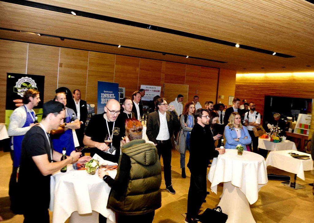 Netzwerken bei der Food Summit