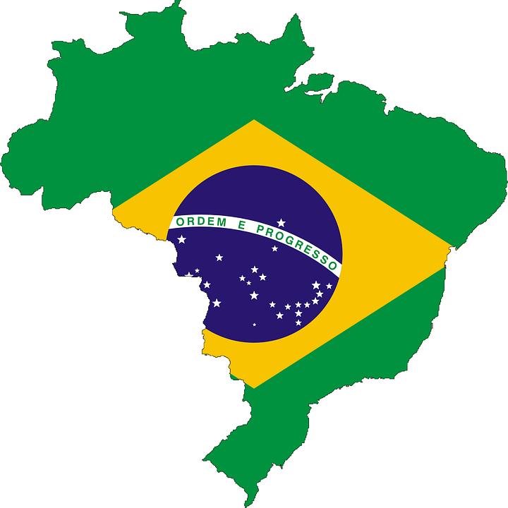 Brasilien Landkarte