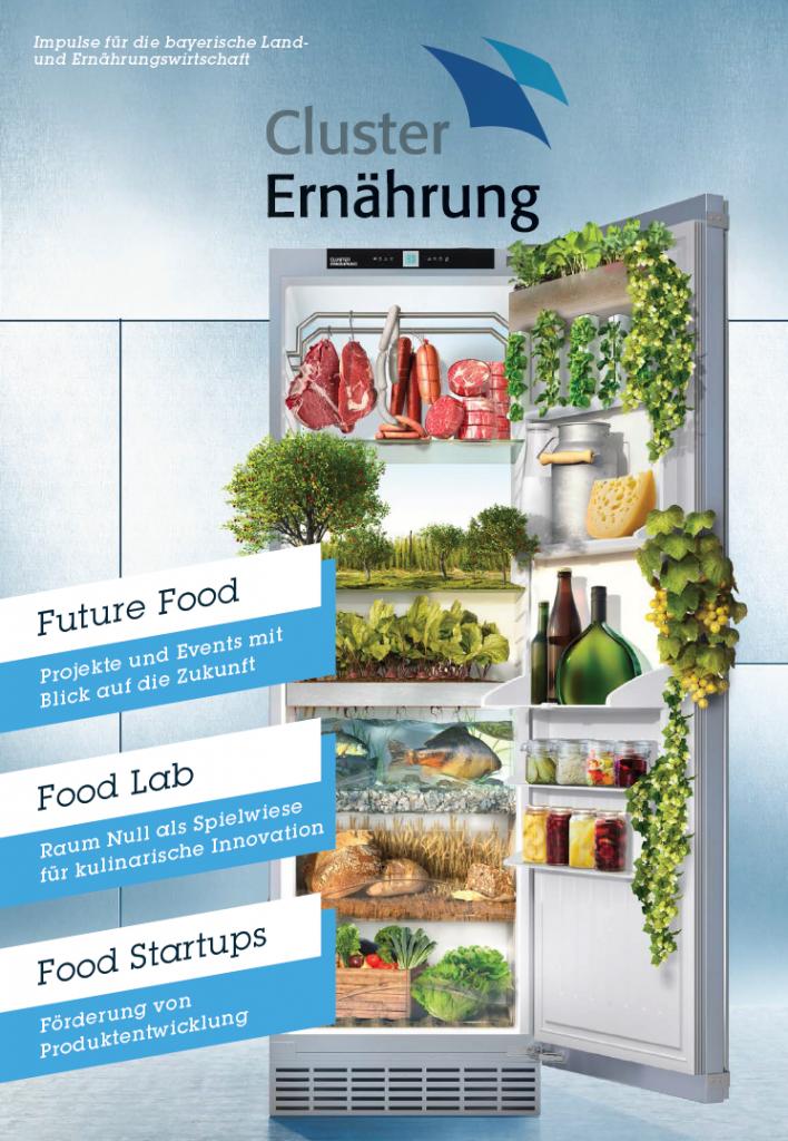 Bild der Imagebroschüre des Cluster Ernährung